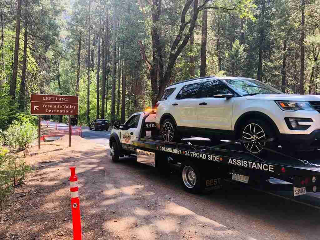 tow truck in bay area